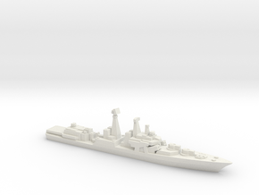 Udaloy I-class destroyer, 1/3000 in White Natural Versatile Plastic
