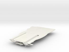 Graf Zeppelin 1:100 Flugdecküberhang Bug in White Strong & Flexible