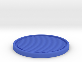 Perfster - The perfect coaster in Blue Processed Versatile Plastic