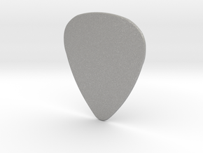 Basic 1mm Guitar Plectrum in Aluminum