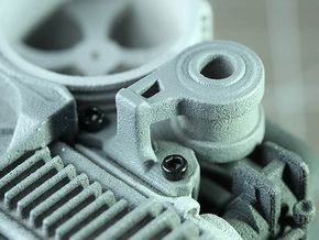 Sand Scorcher Alternator in White Processed Versatile Plastic