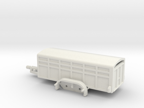 1037 Tiertransporter HO in White Natural Versatile Plastic