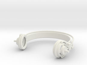Headphones Super Sonico: doll 1/3 scale SD BJD in White Natural Versatile Plastic