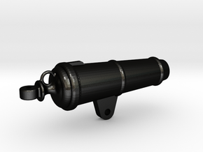 1:24 32-pounder Carronade barrel in Matte Black Steel