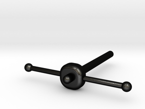 32 Lb Carronade-Elevation Screw in Matte Black Steel