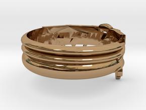 Model-d6f5385d5e815a152a4bc64ca46bbeb5 in 18k Gold Plated Brass