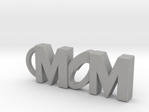 Mom Keychain Tag in Aluminum