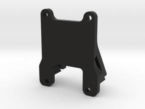 QAV 35° GoPro Mount for Modular Mounting System in Black Natural Versatile Plastic