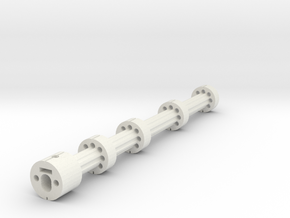 Gspec Lrb Barrel Stabeliser M6 Nut in White Strong & Flexible