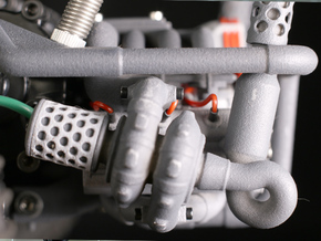 Sand Scorcher Air-filter Meshes in White Strong & Flexible Polished