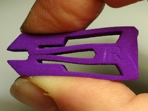 Tweezers 7R in Purple Processed Versatile Plastic