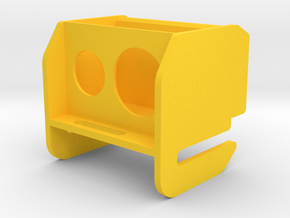 TBS-Caipirinha Xaomi Yi Camera Pod in Yellow Processed Versatile Plastic