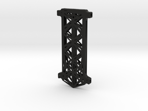 Micro Quadcopter Base Frame in Black Natural Versatile Plastic