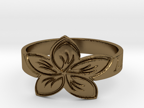 My Awesome Ring Design Ring Size 9.5 in Polished Bronze