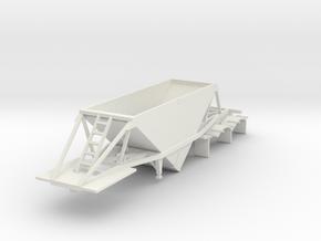 000485 Weber Line Dumper HO in White Natural Versatile Plastic: 1:87 - HO
