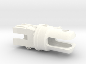 Scale Blade Holder Rh in White Processed Versatile Plastic