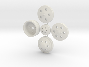 Billet Pulleys 1/16 in White Strong & Flexible