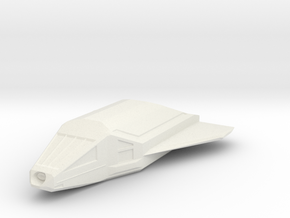 Omega-Class Shuttlecraft in White Strong & Flexible