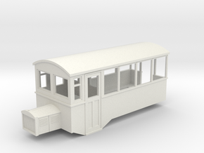 009 HOe Railbus 40 semi-open in White Strong & Flexible