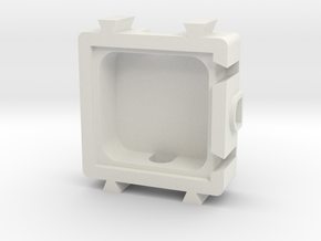 T Module in White Natural Versatile Plastic
