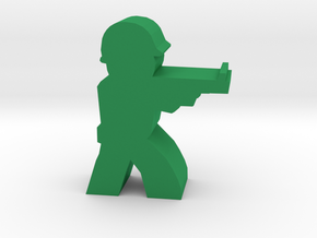 Game Piece WW2 Allied Rifleman in Green Processed Versatile Plastic