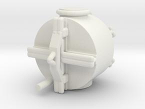 1/144 Scale Mk 51 Mine in White Natural Versatile Plastic