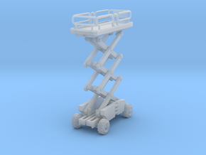Scissor Lift Z Scale in Smooth Fine Detail Plastic