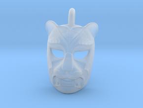 Plastic Leopard Pendant in Smooth Fine Detail Plastic