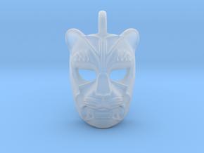 Plastic Leopard Small Pendant in Smooth Fine Detail Plastic
