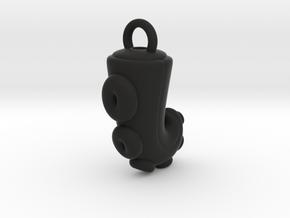 CHIBI CHUBBY TENTACLE in Black Natural Versatile Plastic