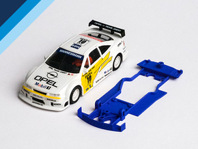 1/32 Ninco Opel Calibra V6 DTM Chassis in Blue Processed Versatile Plastic