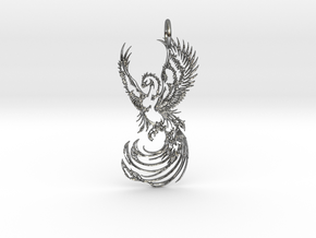 PHX Pendant in Polished Silver