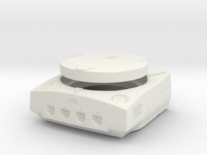 1:6 Sega Dreamcast (White) in White Natural Versatile Plastic