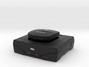 1:6 Sega Saturn (Black) in Full Color Sandstone