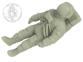 Buzz Aldrin 1:32 (ready to egress LM) in White Strong & Flexible