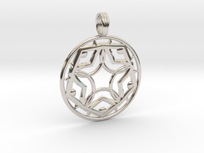 DIAMOND ROAD in Rhodium Plated