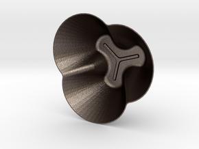 Curvo Six in Polished Bronzed Silver Steel