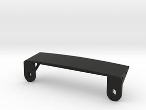 AJ30004 Body Mount ONLY (SCX10) in Black Strong & Flexible
