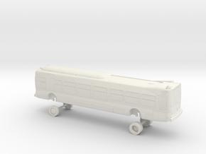 HO Scale Nabi Metro 45C Compobus in White Natural Versatile Plastic