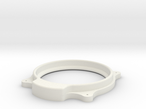 British Altimeter Bezel in White Natural Versatile Plastic