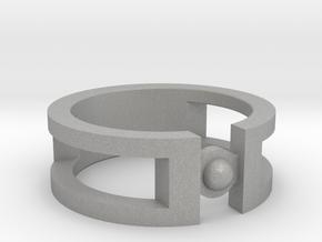 Sphere ring in Aluminum