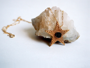 Deco Star in Polished Bronze