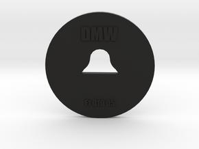 Clay Extruder Die: Footer 010 05 in Black Natural Versatile Plastic