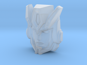 Cybertron Override Faceplate (Titans Return) in Smooth Fine Detail Plastic