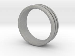 US10 O-Ring Ring: Glow (Plastic/Silver) in Aluminum
