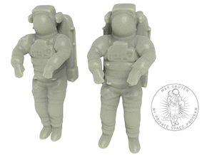 NASA Astronauts EMU 1:144 in White Natural Versatile Plastic