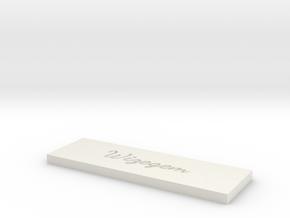 Model-e2461d560faf6085dda78d295eefe5d7 in White Natural Versatile Plastic