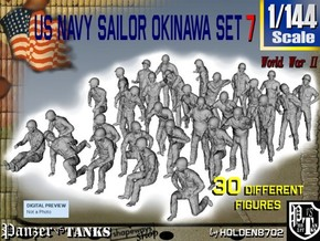 1/144 US Navy Okinawa Set 7 in Smoothest Fine Detail Plastic