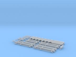 G 016 Schienentieflader ähnlich Goldhofer 7 Achs in Frosted Ultra Detail
