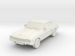 1:87 Ford-capri-mk-1-3l-hollow in White Natural Versatile Plastic